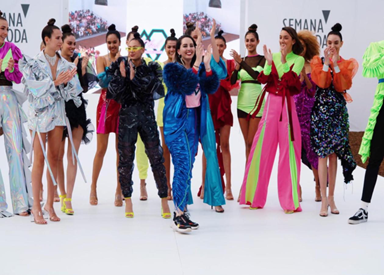 Los diseños de Gran Canaria Moda Cálida se fusionan con las tendencias de peluquería en 'Live Fashion Hair'