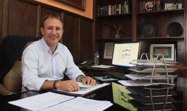 Sergio Rodríguez, alcalde de El Paso