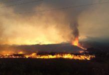 Imagen de la colada del volcán de Cumbre Vieja, en El Paso, en la isla canaria de La Palma. / Inés Galindo, IGME-CSIC